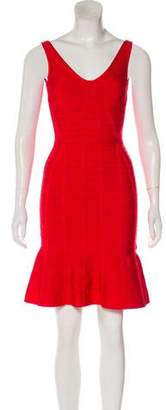 Herve Leger Christina Bandage Dress