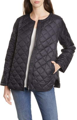 Eileen Fisher Shirttail Flight Jacket