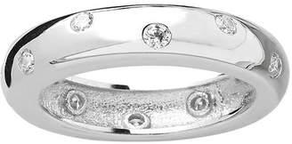 Sterling Forever Sterling Silver CZ Etoile Ring
