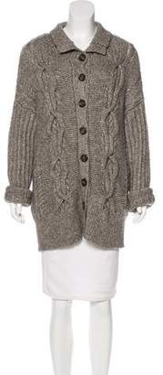 Intermix Long Sleeve Heavy Knit Sweater