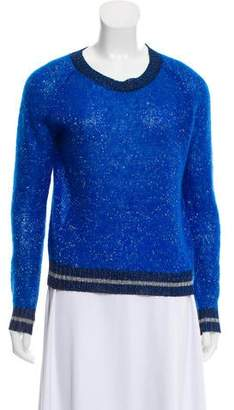 Les Prairies de Paris Long Sleeve Knit Sweater