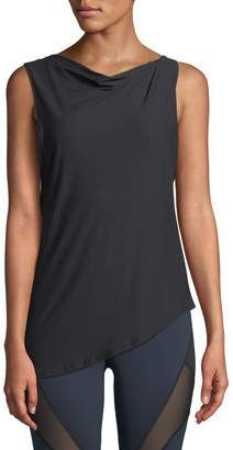 Michi Aerial Twisted Open-Back Top