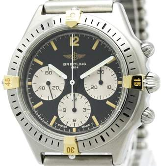 Breitling Callisto 80520 18K Yellow Gold & Stainless Steel 38mm Mens Watch