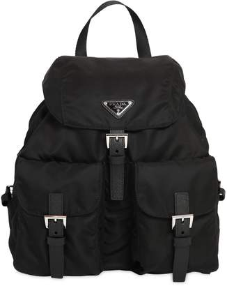 Prada Nylon Canvas Backpack