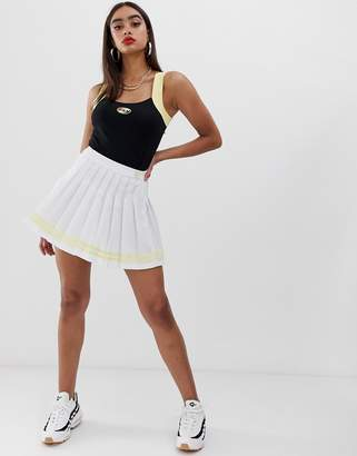 Fila pleated mini tennis skirt