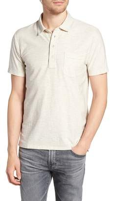 Billy Reid Pensacola Cotton Blend Polo Shirt