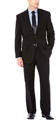 Haggar J.M. Premium Stretch Sharkskin Classic Fit Black Suit Jacket