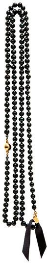 Wendy Nichol Black Pearl Cone Necklace