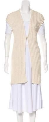 Brunello Cucinelli Sequin Knit Vest gold Sequin Knit Vest
