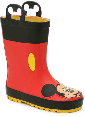 Western Chief Mickey Mouse Toddler Rain Boot - Boy's