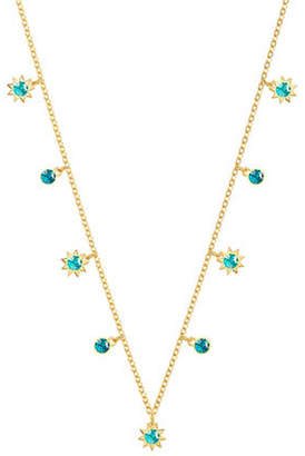 Swarovski Last Summer Turquoise Crystal Choker Necklace