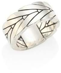 John Hardy Modern Chain Sterling Silver Ring