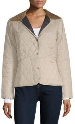 Barbour Summer Liddesdale Quilted Blazer