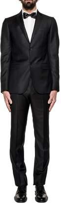 Gucci Black Monaco Wool 2 Piece Suit