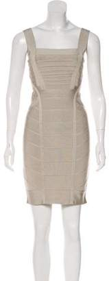 Herve Leger Mini Bandage Dress w/ Tags