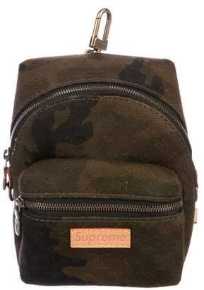 Louis Vuitton x Supreme 2017 Nano Apollo Monogram Camouflage Backpack
