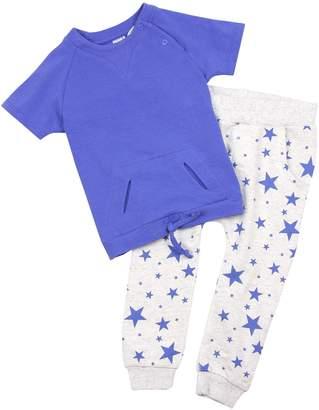 Petit Lem Baby Boy's Little Star T-shirt ans Sweat Pants Set, Sizes 12-24M (18M)