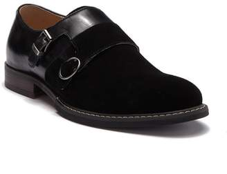 Vintage Foundry The Obsidian Monk Strap Suede Derby
