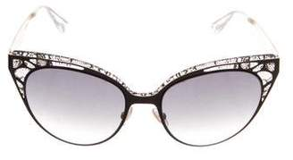 Jimmy Choo Estelle Cat-Eye Sunglasses