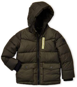 Michael Kors Boys 4-7) Flap Pocket Puffer Jacket