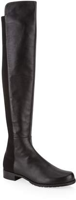 Stuart Weitzman Leather 5050 Over-The-Knee Boots