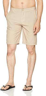 Burnside Men's World Core II Stretch Hybrid Quick Drying Modern Fit Short