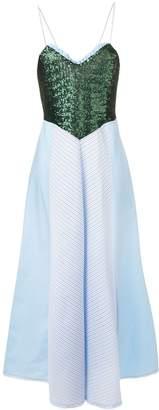 Gina sequinned bodice dress