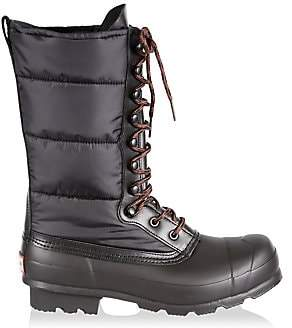 Hunter Men's Original Quilted Nylon & Rubber Boots