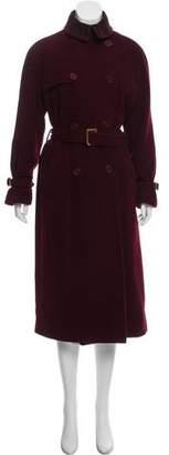 Ralph Lauren Black Label Double-Breasted Wool Coat
