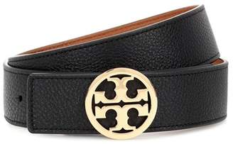Tory Burch Reversible leather logo belt