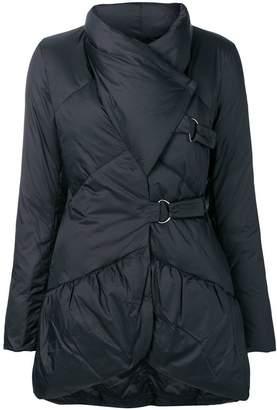 Emporio Armani asymmetric puffer jacket