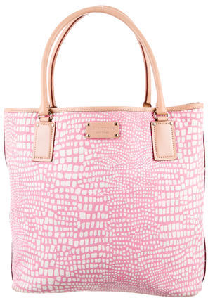 Kate Spade Kate Spade New York Pattern Print Canvas Tote