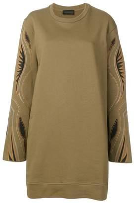 Diesel Black Gold western embroidered jumper dress