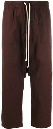 Rick Owens drop-crotch trousers