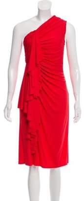 Givenchy 2017 One Shoulder Dress
