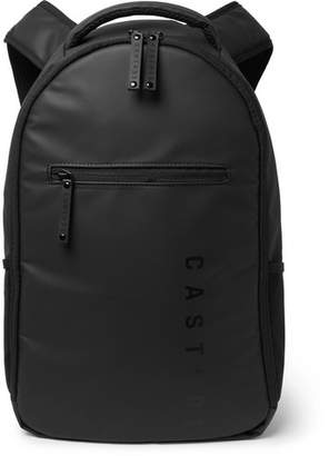 Castore CASTORE - Edgar Mesh-Trimmed Rubber Backpack - Men - Black