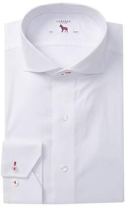 Lorenzo Uomo Textured Regular Fit Dress Shirt