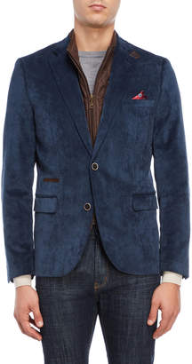 English Laundry Corduroy Bibbed Blazer
