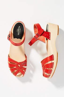 Swedish Hasbeens Debutant Clog Sandals