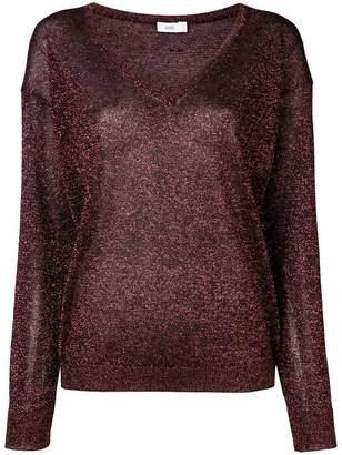 Closed glitter sweater