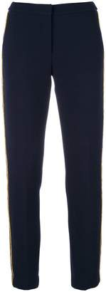 Ki6 trousers with contrast piping