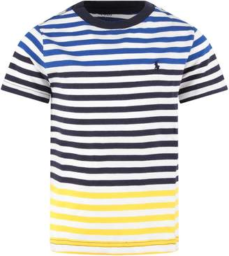 Ralph Lauren Multicolor Boy T-shirt With Iconic Pony