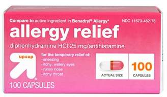 Up&Up Diphenhydramine Allergy Relief Capsules - 100ct - Up&Up