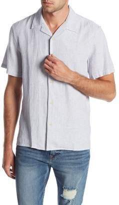 Lucky Brand Short Sleeve Slim Fit Woven Shirt