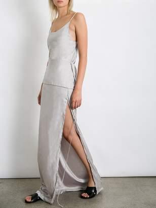 Kacey Devlin Traverse Full Skirt with Single Side Split