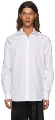 Ann Demeulemeester White Piquet Shirt