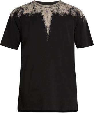 MARCELO BURLON Yago long-line cotton-jersey T-shirt $165 thestylecure.com