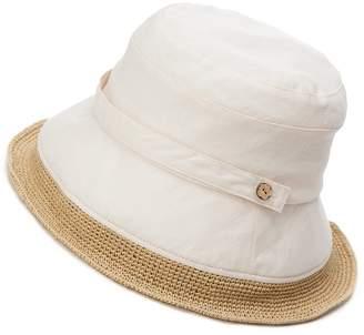 Siggi Womens Summer Bucket Boonie UPF 50+ Wide Brim Linen Sun Hat Rollable Beach Accessories Beige