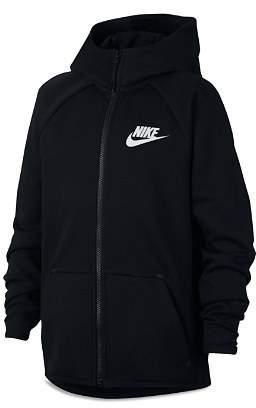 Nike Boys' Tech Fleece Full Zip-Up Hoodie - Big Kid