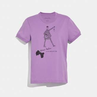 Coach Bonnie Cashin Walking T-Shirt
